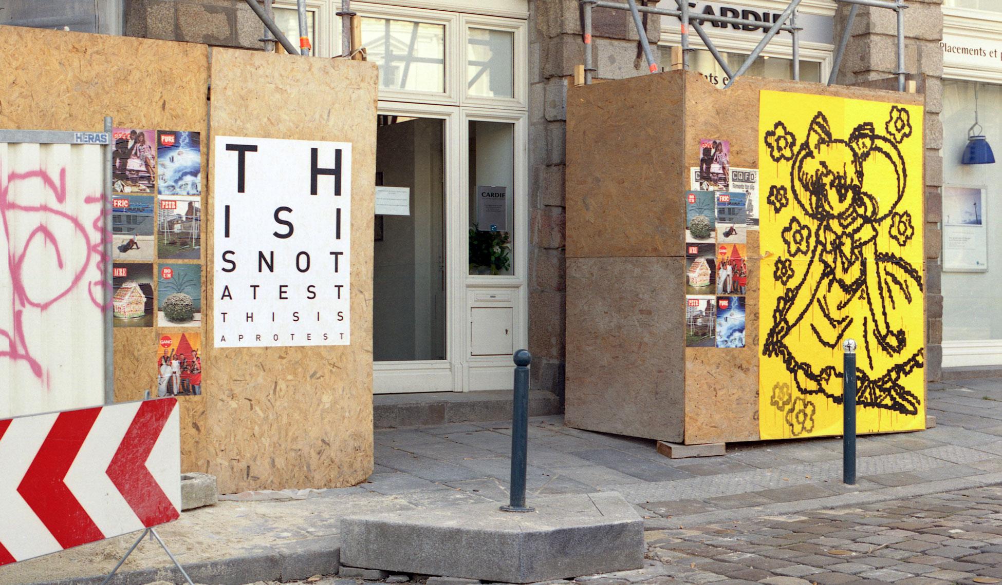 Arzhel-Prioul-&-Mathieu-Tremblin---Sailor-Moon-&-Optical-Protest---2009---Rennes